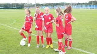 Футбол. Девочки. 23/03/17 Минск-Девочки(06-07) - Юниор(07) 3-9 Girls football 10-11 years old