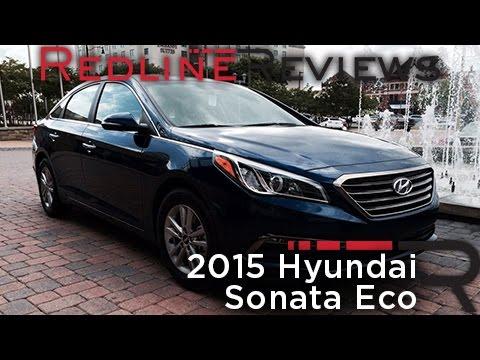 2015 Hyundai Sonata Eco – Redline: First Drive