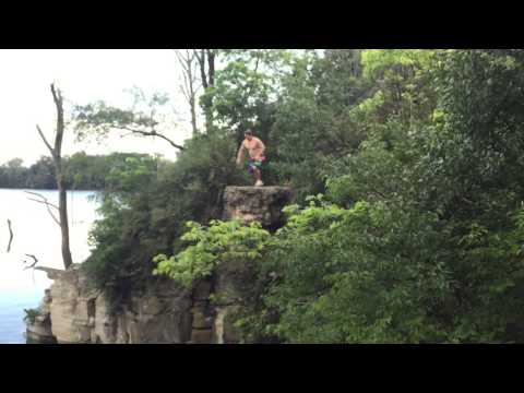 FugitiveBMX Webisode #1: Greencastle Cliff Jumping