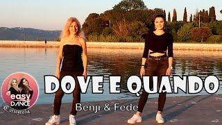 Benji & Fede   DOVE E QUANDO   Balli Di Gruppo   Easydance Coreografia   Line Dance Original