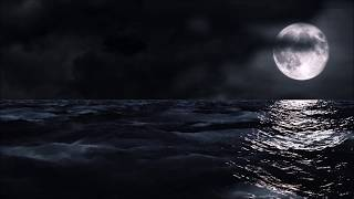 *Bob Marley* No Woman No Cry (1 HOUR LOOP) | Midnight Moonlight With Ocean | Calm & Relaxing