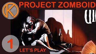 Project Zomboid | RYAN'S STORY - Ep. 1 | Super Survivors | Hydrocraft | ORGM | Build 40