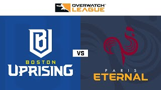Knockout E | Boston Uprising vs Paris Eternal | May Melee NA | Day 1