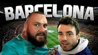 AMAZING TRIP TO SEE MESSI GOAL IN BARCELONA | Lost In Football
