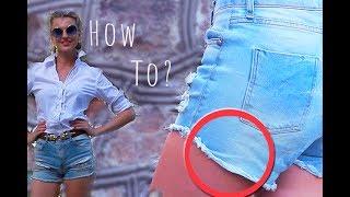Как носить джинсовые шорты / How To Style Your Denim Shorts (KatyaWORLD)
