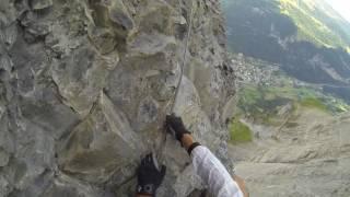 Fürenwand Klettersteig Unfall : Daubenhorn klettersteig Самые популярные видео