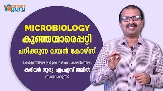 MICROBIOLOGY: A MAJOR COURSE ABOUT MINOR THINGS | CAREER GURU M.S JALIL