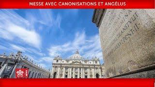 Pape François- Messe avec canonisations et Angélus 2019-10-13