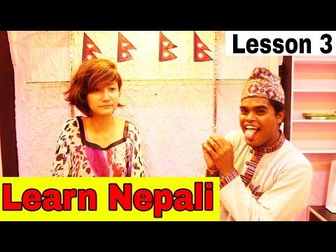 LEARN NEPALI LANGUAGE ONLINE - LESSON 3 | IMPORTANT BASIC PHRASES | Anil Mahato