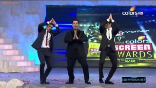 Siddharth Malhotra, Varun Dhawan & Karan Johar