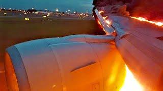 Авиакатастрофа в Шереметьево. Видео из салона