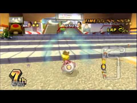20130811 Mariokart Wii ひろひろさんルーム 4/4GP