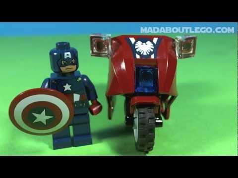 Vidéo LEGO Marvel 6865 : La vengeance de Captain America