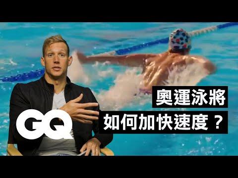 奧運游泳運動員分析電影中的游泳場景