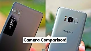 Meizu Pro 7 Plus Camera Vs Samsung Galaxy S8 | Camera Comparison | Camera Test | Camera Review 2017!