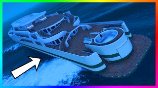 5 Secret Yacht Features/Functions You Might Not Know About In GTA Online & MORE! (GTA 5)