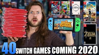 40 NEW Nintendo Switch Games Coming in 2020!