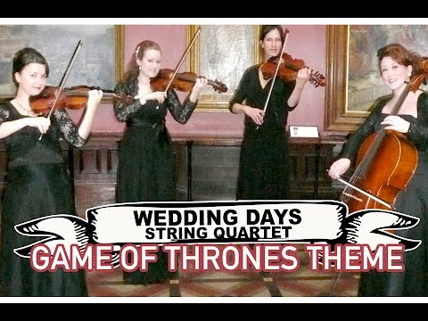 Wedding Days String Quartet Video