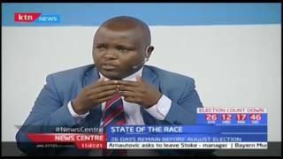 Uhuru arrives in Mbita as he leads Jubilee in Nyanza campaigns