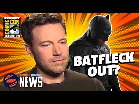 Ben Affleck's Batman Future In Doubt? – (SDCC 2017)