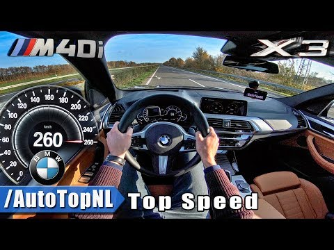 BMW X3 M40i AUTOBAHN POV | ACCELERATION & TOP SPEED | by AutoTopNL
