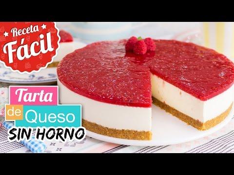 TARTA DE QUESO SIN HORNO | Receta fácil | Quiero Cupcakes!
