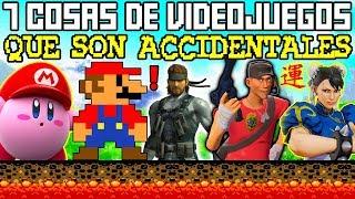 7 Cosas Increíbles en Los Videojuegos que son Accidentales