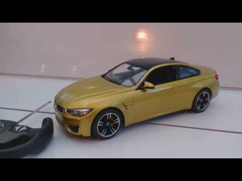 BMW M4 COUPE radio controlled car review (by BMW)