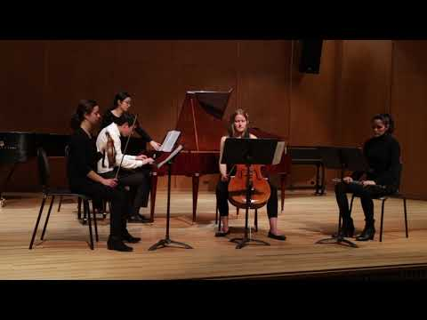Claudio performs Mozart d minor concerto, K.466, at the University of Michigan, from the Fortepiano