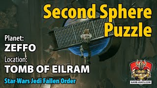 Video Zeffo Tomb of Eilram - Second Sphere Puzzle Walkthrough