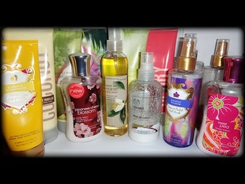 Cremas Corporales y Body Spray (bath & body works y victoria's secret)