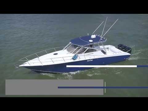 Fountain 38 Sportfish Cruiser video