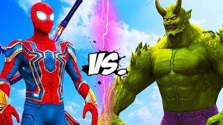 IRON SPIDER VS ULTIMATE GREEN GOBLIN