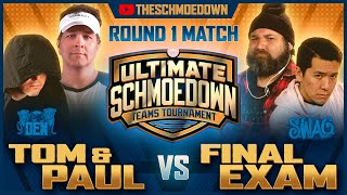 Teams Tournament: Tom & Paul vs Final Exam - Movie Trivia Schmoedown by Schmoes Know