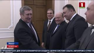 Детали промышленной кооперации Беларуси и Азербайджана сегодня обсудили в правительстве