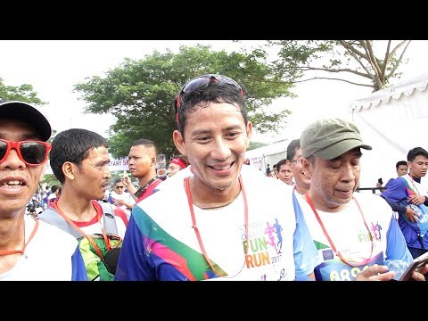 Sandiaga Uno Ikuti CT Arsa Fun Run 2017 di BSD City