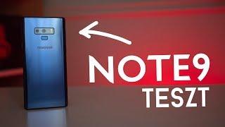 Végre egy IGAZI Note! | Samsung Galaxy Note9 teszt