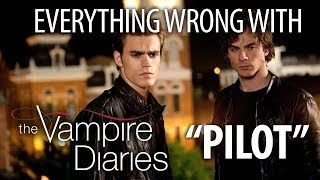 "Everything Wrong With The Vampire Diaries ""Pilot"""