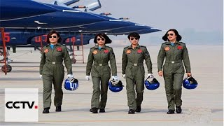 China's female fighter pilots show their mettle