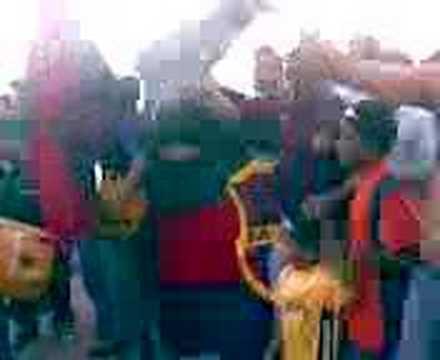 """""""brujos Chaimas vs Carabobo"""" Barra: Guerreros Chaimas • Club: Monagas"""