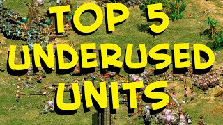 Top 5 AoE2 Units Newer Players Should Use More Often