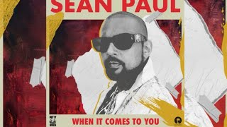 Sean Paul   When It Comes To You (Official Audio)
