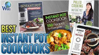 10 Best Instant Pot Cookbooks 2018