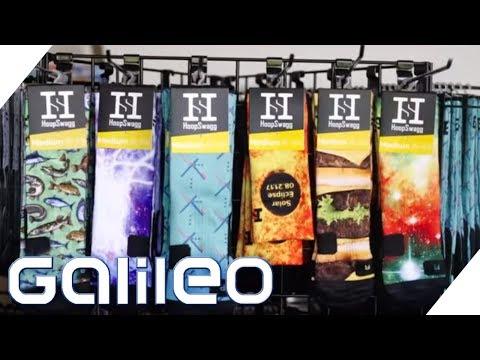 Skurrile Geschäftsidee: Mit Socken zum Millionär | Galileo | ProSieben