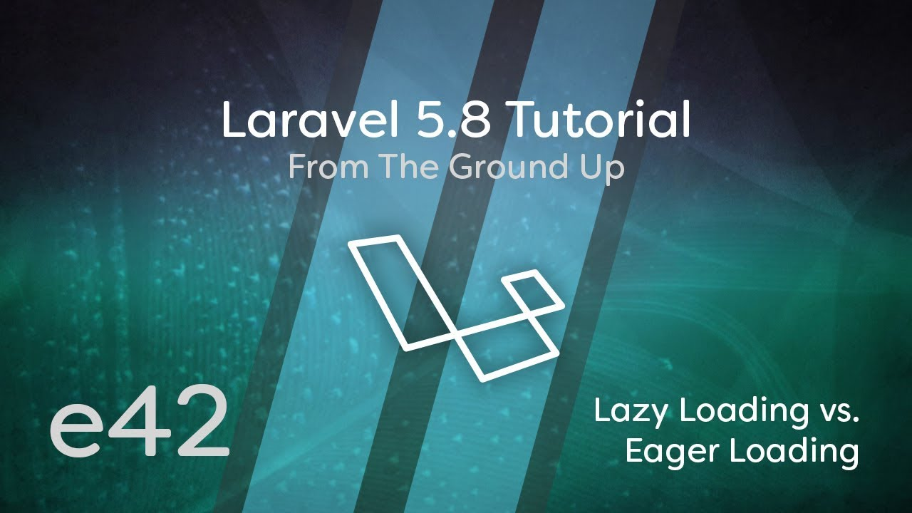 Cover image for the lesson by the title of Lazy Loading vs. Eager Loading (Fixing N + 1 Problem)