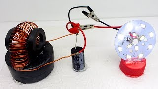 100% Free Energy Electricity Using Magnet With Copper Wire - 100% Electricity Free Energy