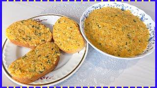 Рецепт простой и вкусной овощной намазки для бутербродов.Эта овощная  начинка готовиться из простых продуктов и получается вкусной и сытной, ее  можно использовать в качестве овощной начинки для блинов, пирогов или  пирожков. А
