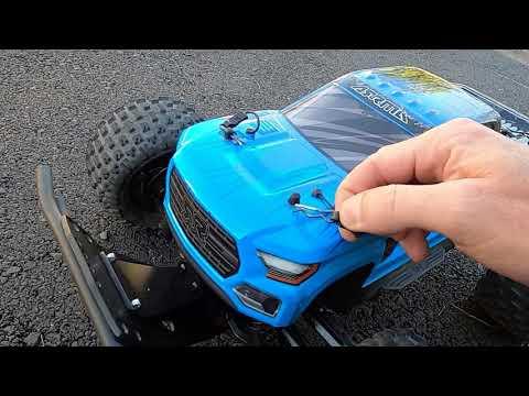Arrma Granite V3 Brushless 3S lipo (89kmh) on GPS