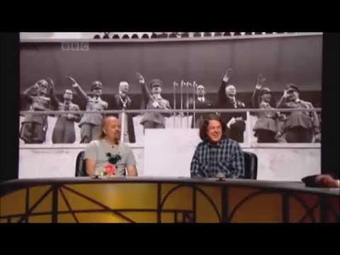 QI on 1936 olympics (0:49). I just remembered this was on the internet and wanted to share.