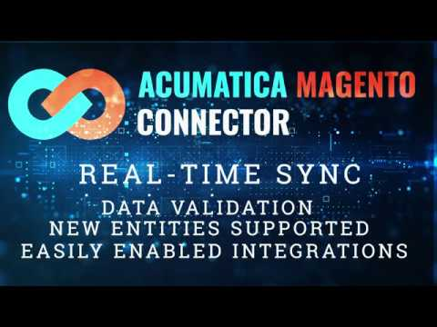 Features of the Acumatica-Magento Connector